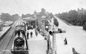 Photo 3 - Woodhall Spa Railway Station (Postcard in Webmaster's collection