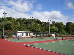 Woodhall Spa Tennis Club, Jubilee Park