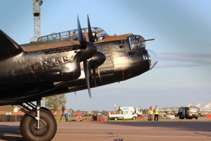 Lancaster of the Battle of Britain Memorial Flight