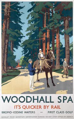 Fig 2 - Railway poster from the 1930's