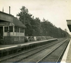 Photo 1 - Woodhall Spa Railway Station. (Photo courtesy of Woodhall Spa Cottage Museum)