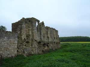 Tupholme Abbey near Bardney