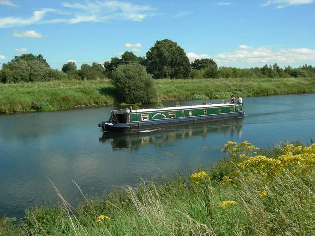 Barge on the Witham