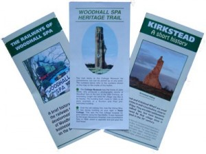 Heritage Committee published leaflets
